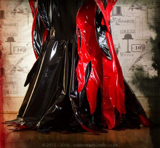 """""""Morticia"""" PVC Costume 2"""
