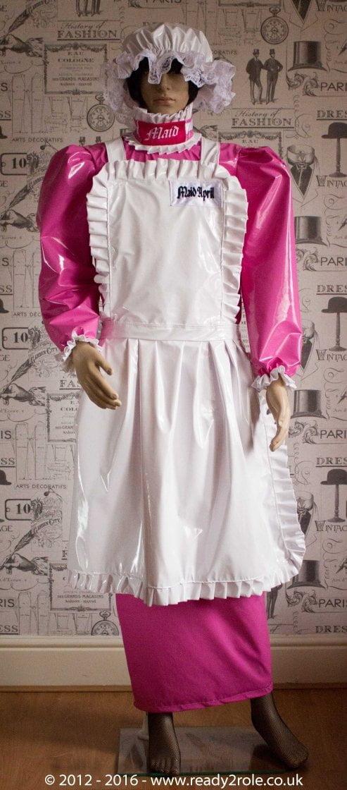 """The """"April"""" Hobbler PVC Dress – Ask About Colour Options 1"""