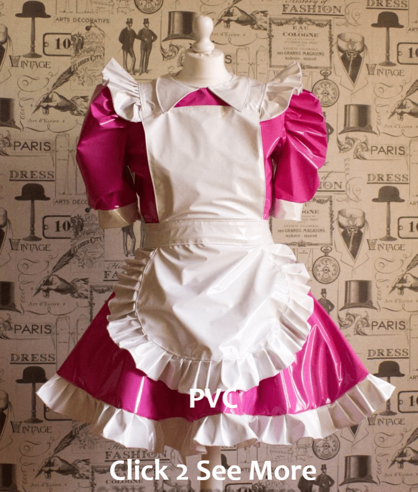 PVC Alice Sissy Dress