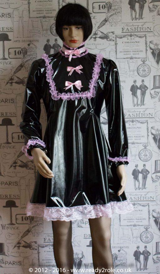 """The """"Fleur"""" PVC Dress – Ask About Colour, Fabric Options 3"""