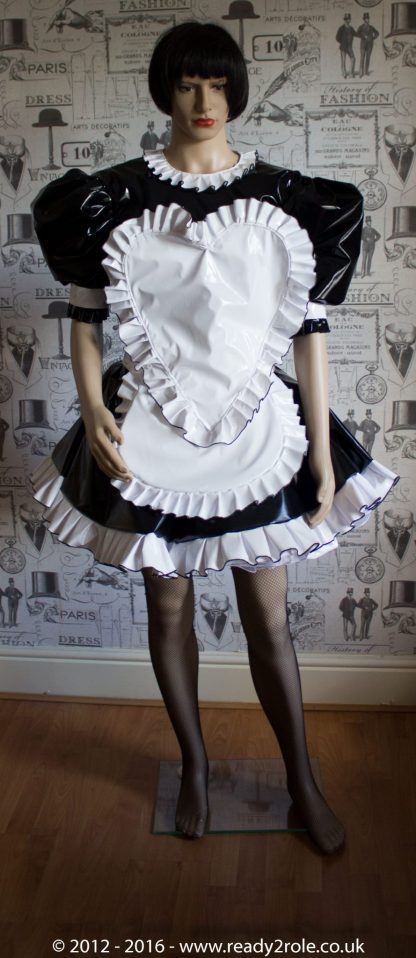 """The """"Sweetheart"""" Sissy Dress With Interchangeable Apron Sections 2"""