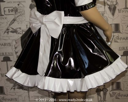 """The """"Sweetheart"""" Sissy Dress With Interchangeable Apron Sections 4"""
