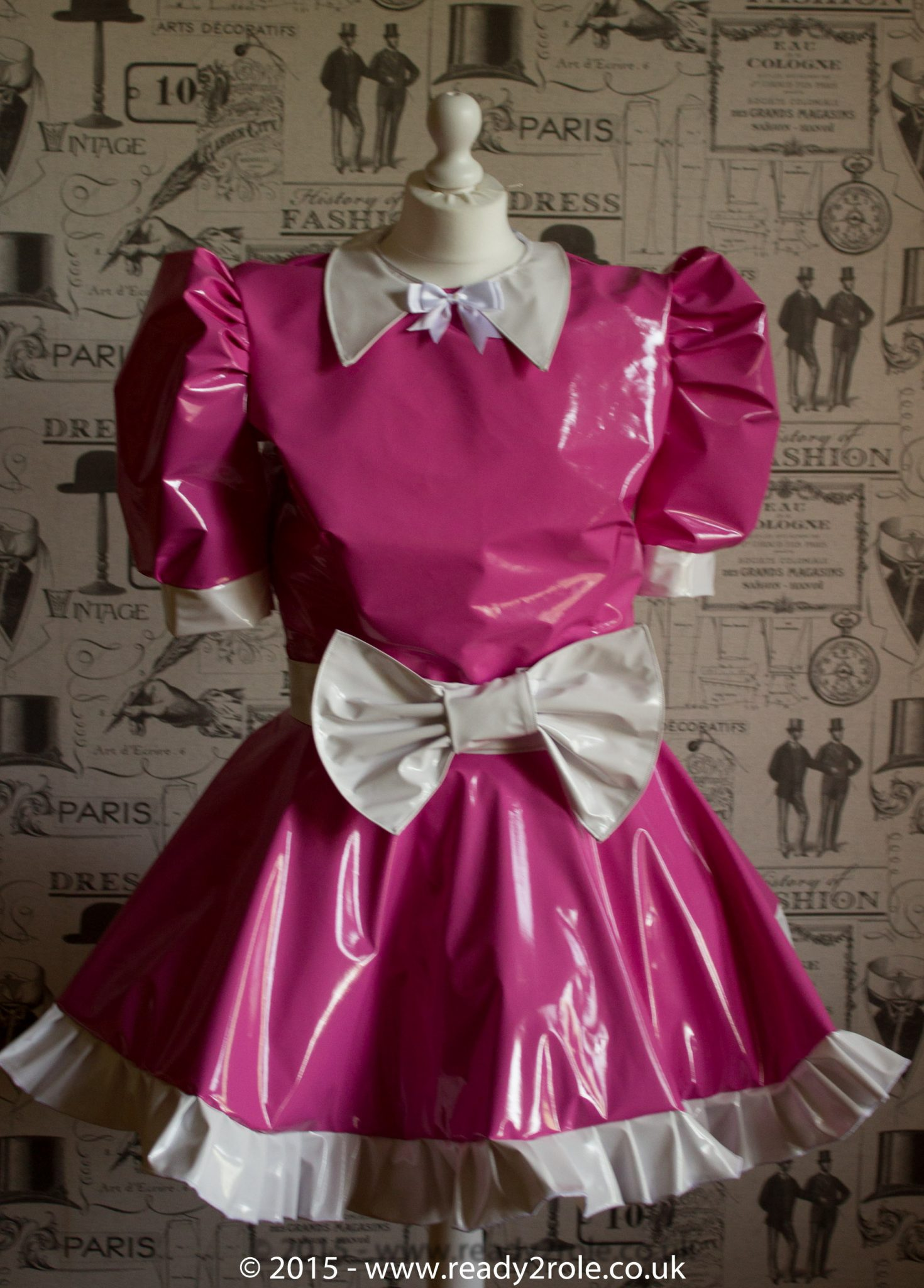 Milly Bow Front – Sissy PVC Dress