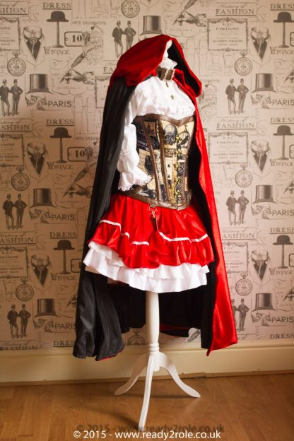 Red Riding Hood SteamPunk Costume 3