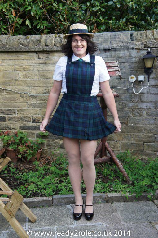 Adult School Uniform Dresses – Pinafore Style 4