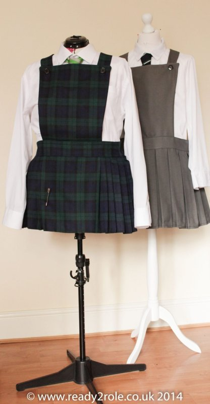 Adult School Uniform Dresses – Pinafore Style 1