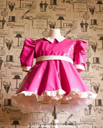 Baby Doll Milly Sissy PVC Dress 1