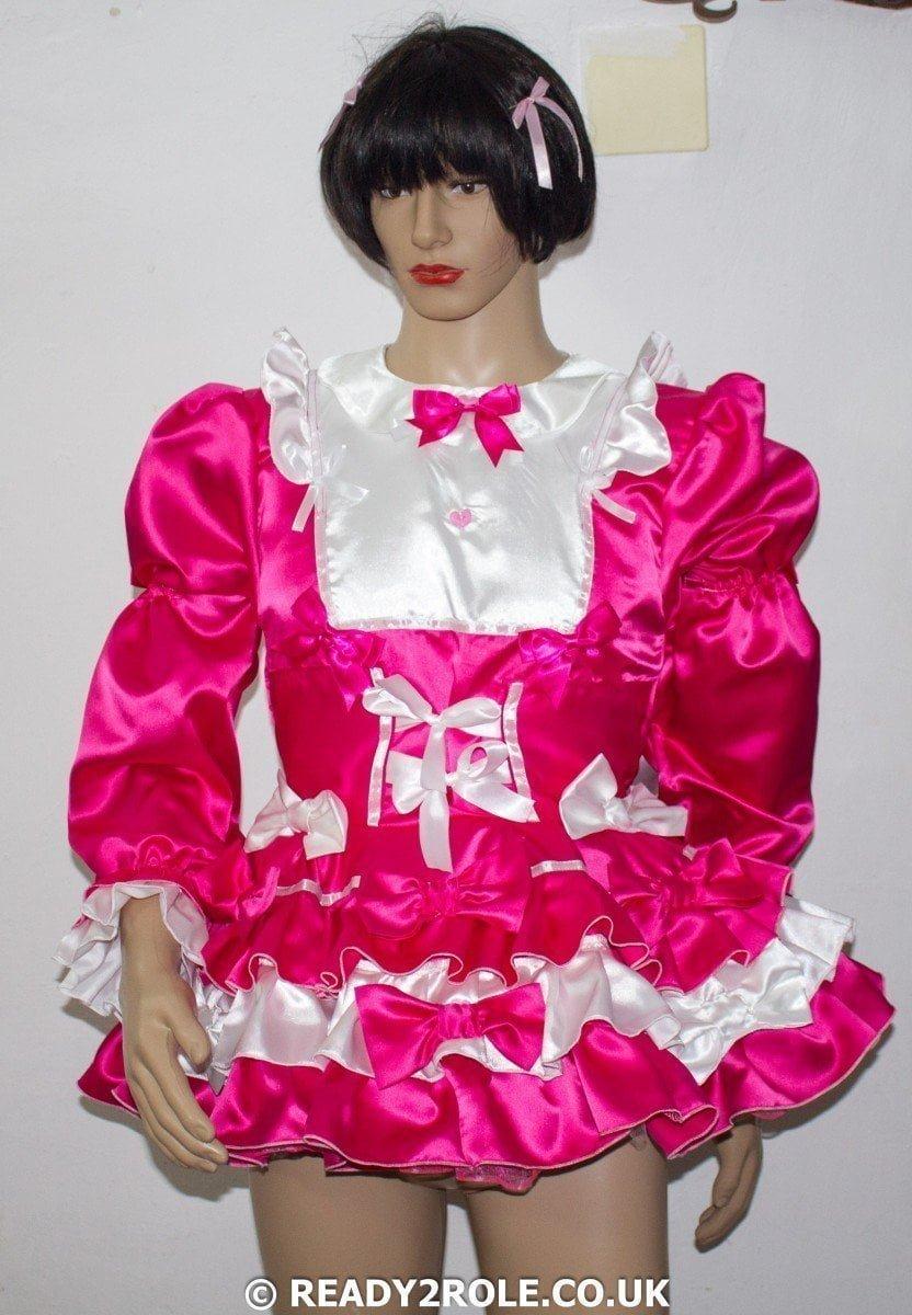 Judy – Prissy Sissy Dress with Petticoat