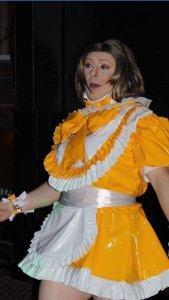 Aimi PVC Sissy Dress