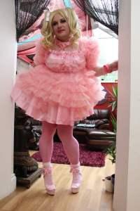 Krystal Sissy Dress - Kelly