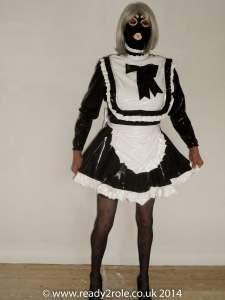 Lucy Locket PVC Sissy Dress