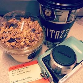 I'm on the train!! Whoop. #bolgonmsi #sheffieldtomanchester #train #mumsdayoff #sunday #bloggingevent