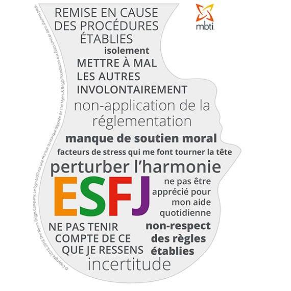ESFJ sous stress