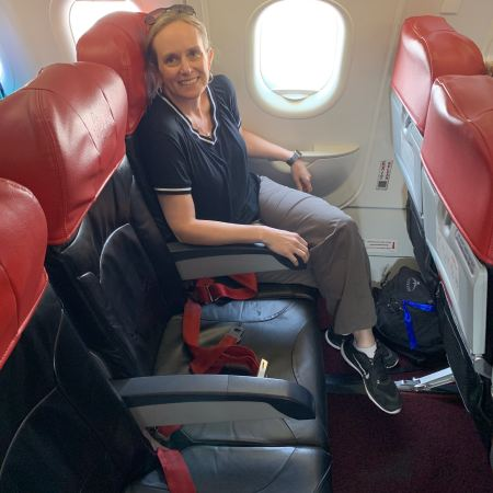 AirAsia exit row hot seats