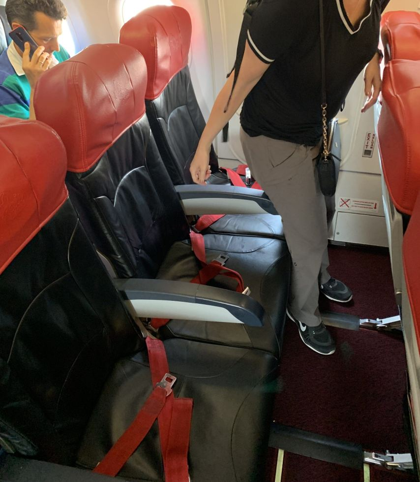 Air Asia hot seat