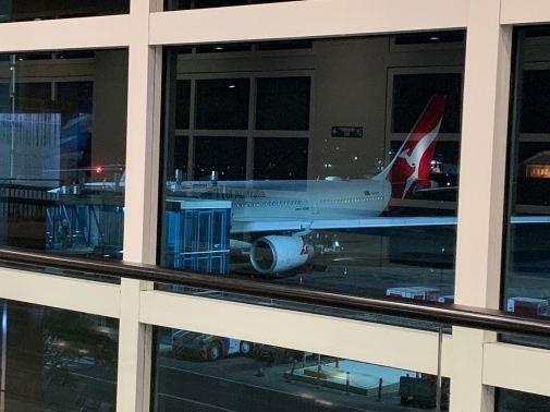 Qantas Business Class Bali to Sydney