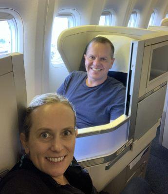 British Airways Sydney to Singapore