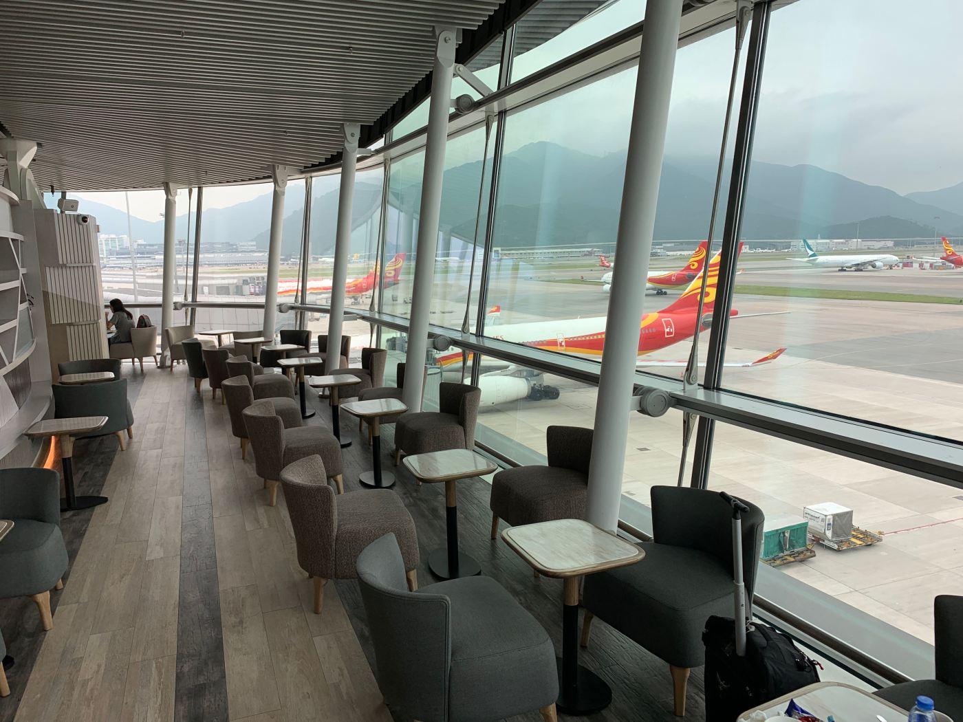 Hong Kong Airlines Autus Lounge