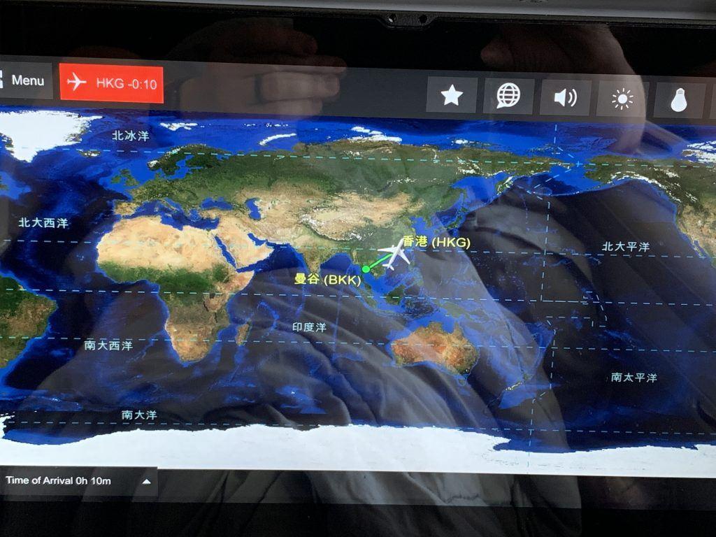 Bangkok to Hong Kong Big Map