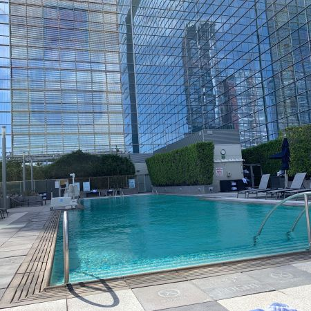 Marriott Staples Center pool