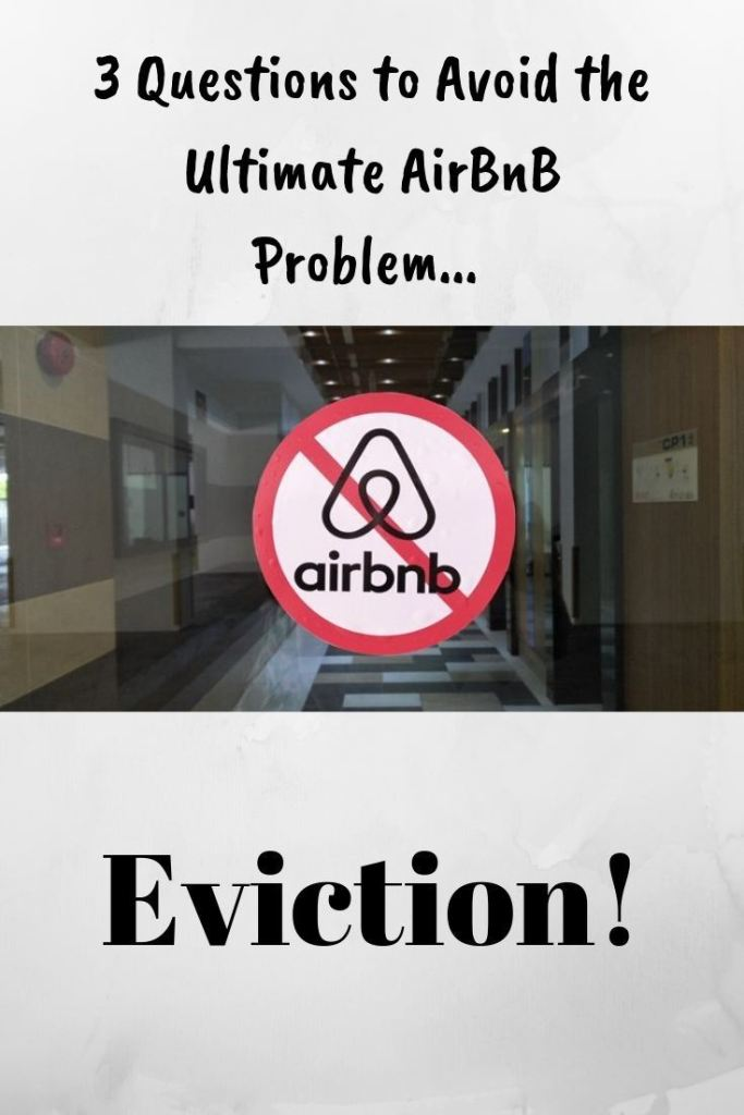 AirBnB Problem Eviction