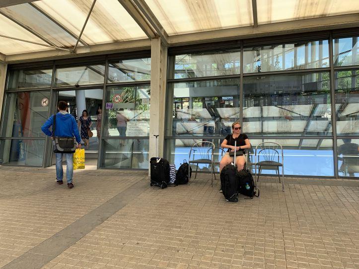 Bus Terminal Exterior Plovdiv Bulgaria
