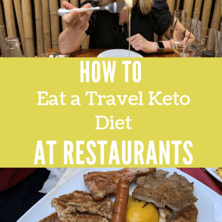 how to eat a keto diet at restaurants