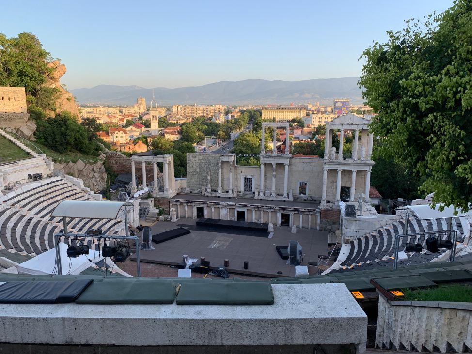Roman Theater Plovdiv Bulgaria