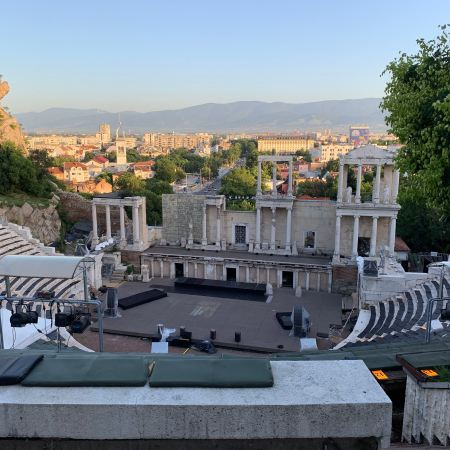 Roman Theater Plovdiv Bulgaria