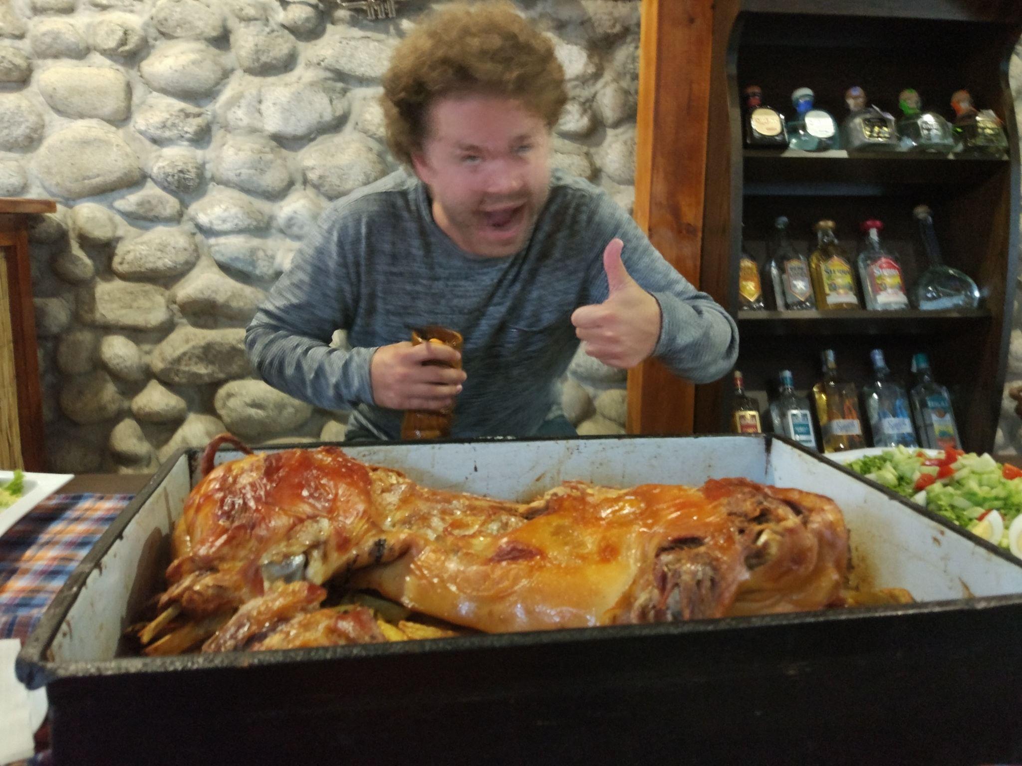 Danny's Bansko Bulgaria Pig Roast