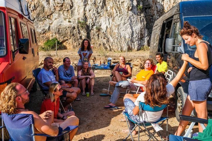 Camper retreat portugal breakfast