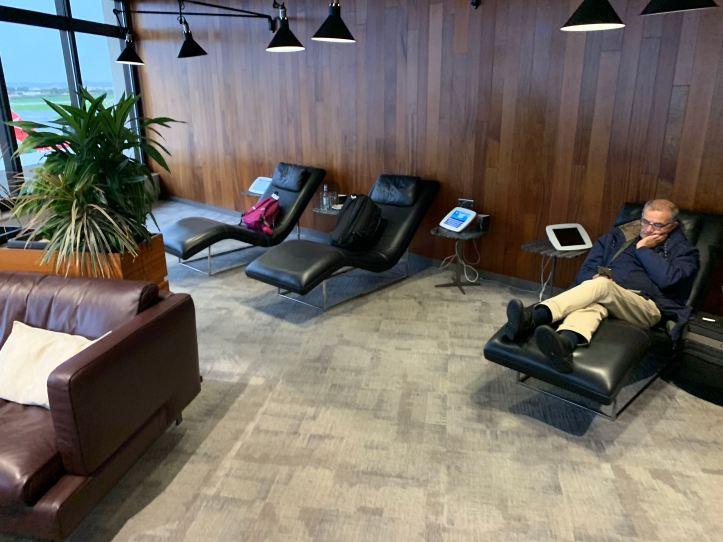 Priority Pass Lounge Malta Seating