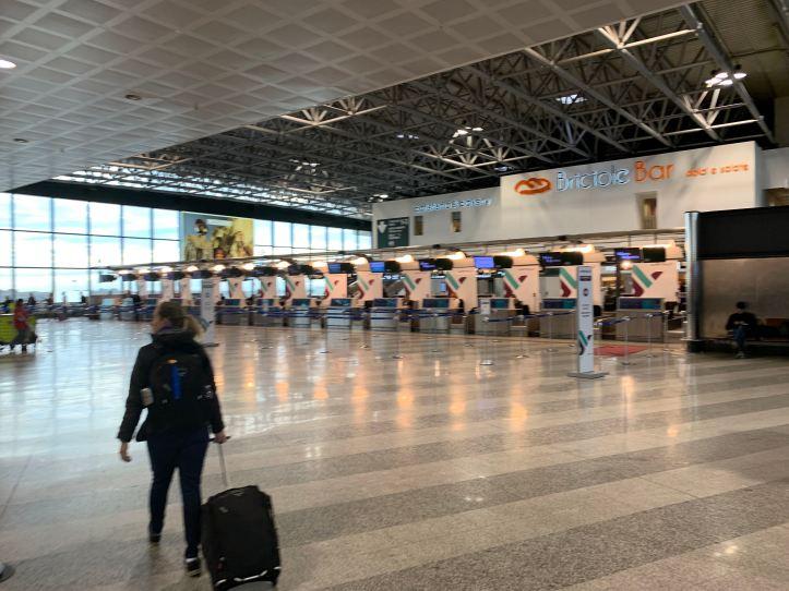 Milan Malpensa Airport Terminal 1 Air Italy Check In