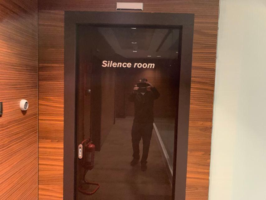 Priority Pass Lounge Malpensa Airport Terminal 1 Sala Silence Room