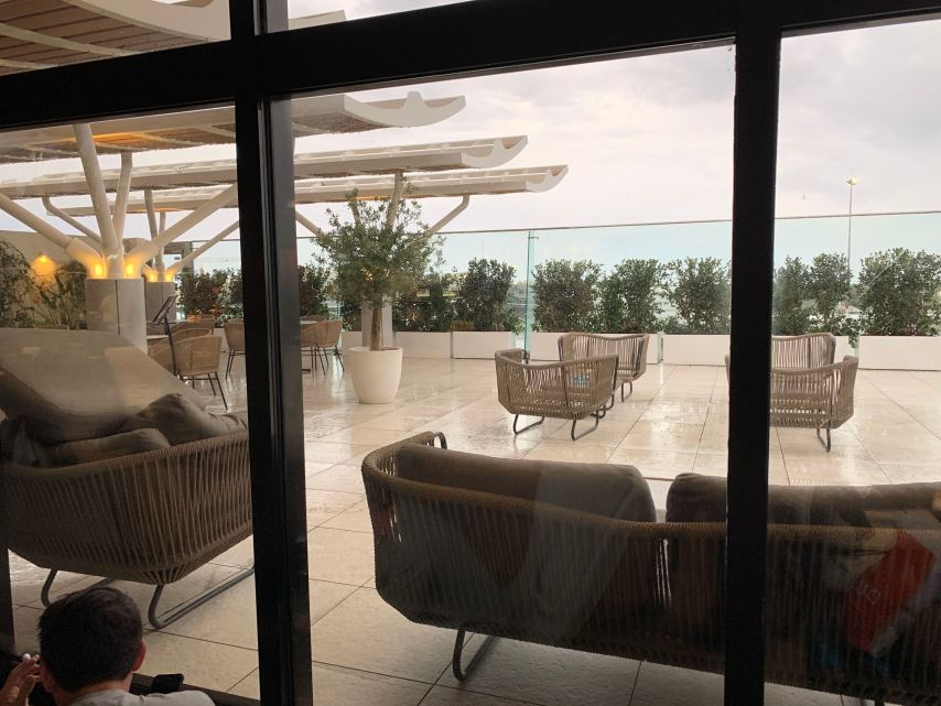 Priority Pass Lounge Malta Terrace Seating