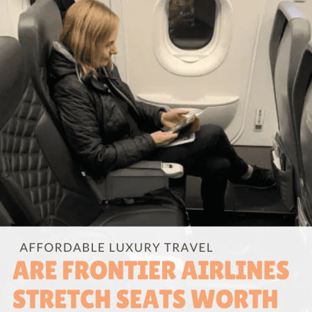 Frontier Airlines Stretch Seats
