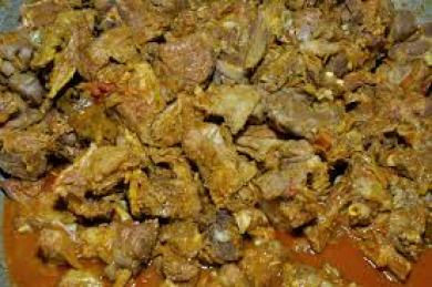 Jamaican Curry Goat Keto