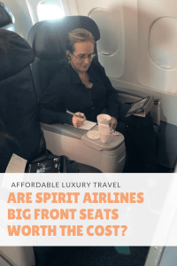 Are Spirit Airlines Big Front Seats Worth the Cost