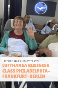 Lufthansa Business Class Philadelphia to Frankfurt to Berlin