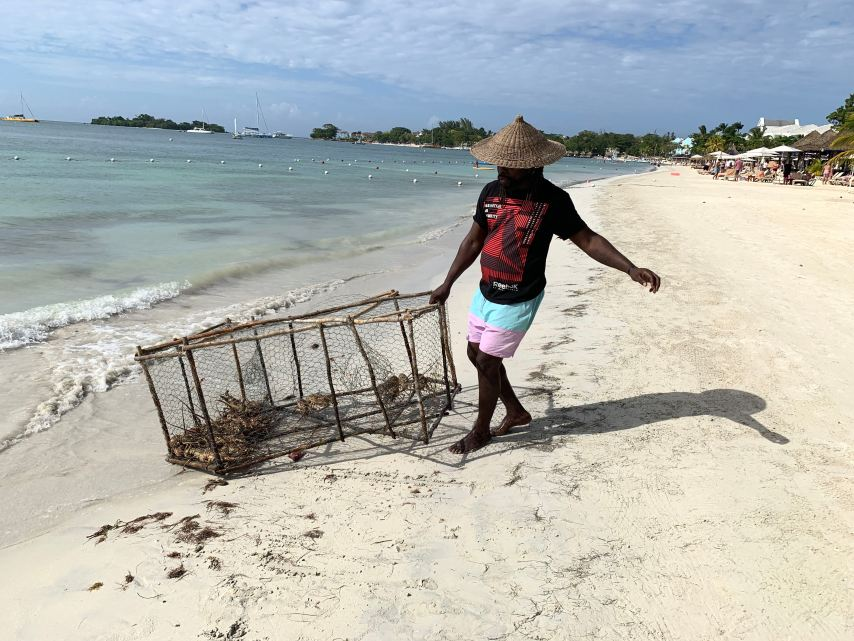 Fireman's Lobster Pit Negril Jamaica Keto Diet
