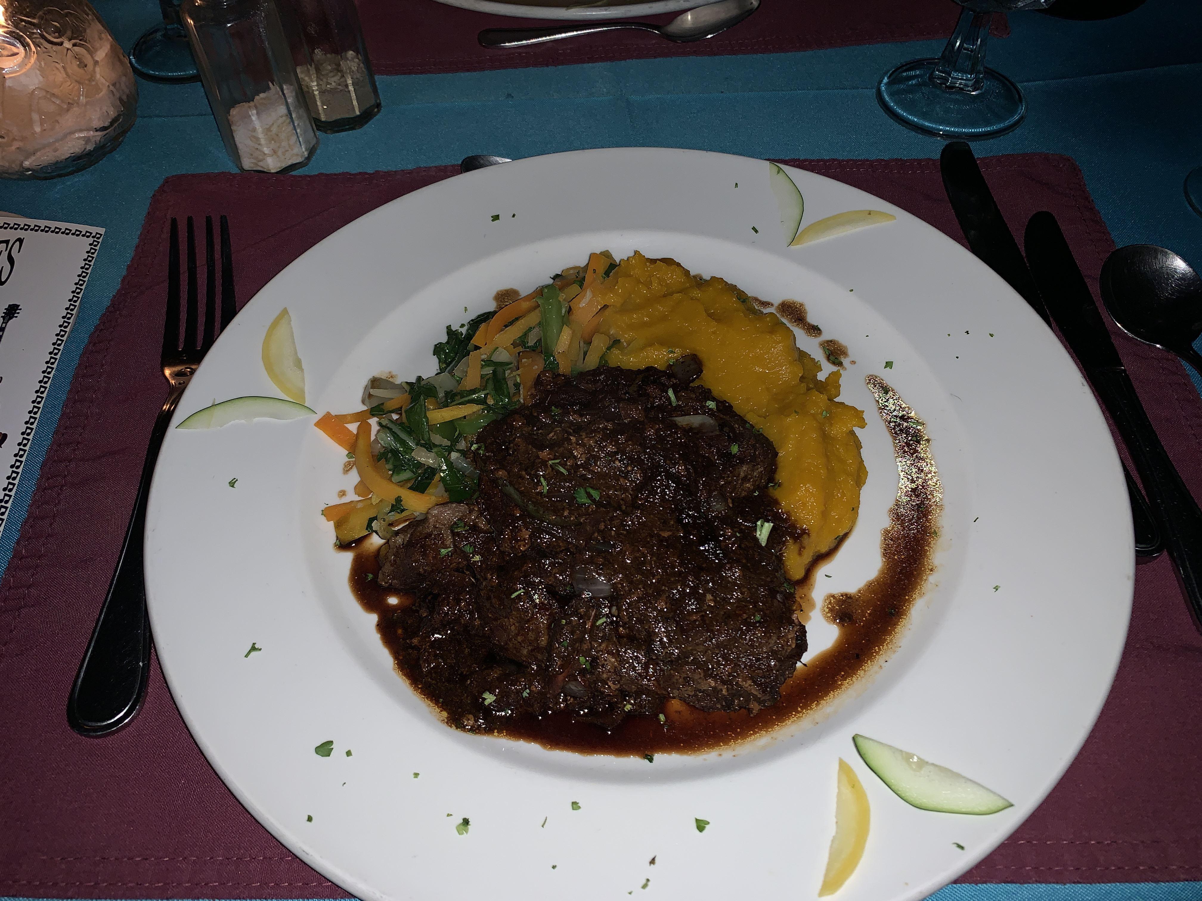 Le Vendome Restaurant Negril Jamaica Keto Diet Pepper Steak