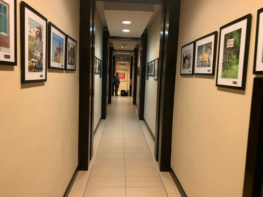 Club Mobay Hallway to Facility