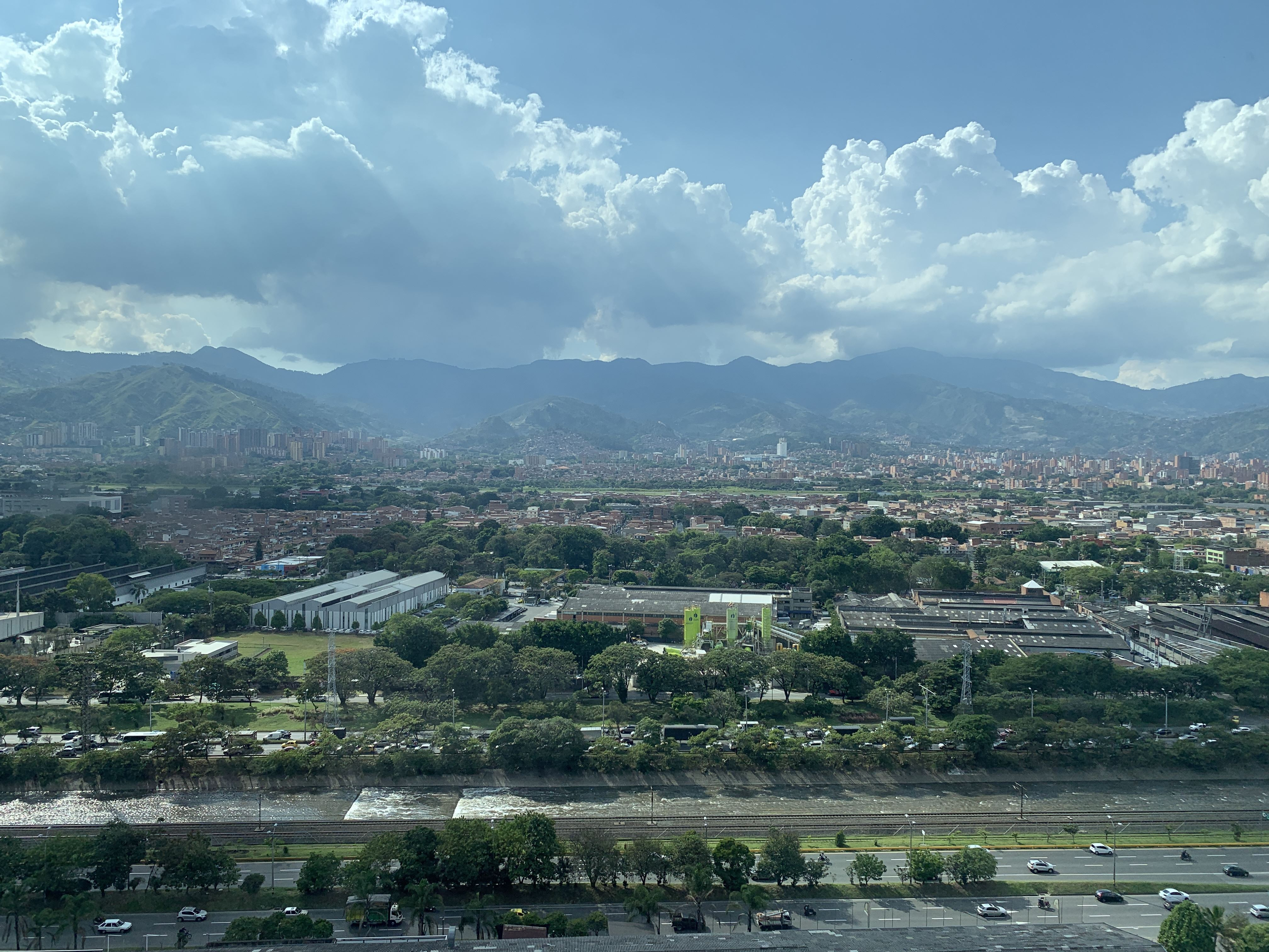 View From Medical Tourism Building Medellin