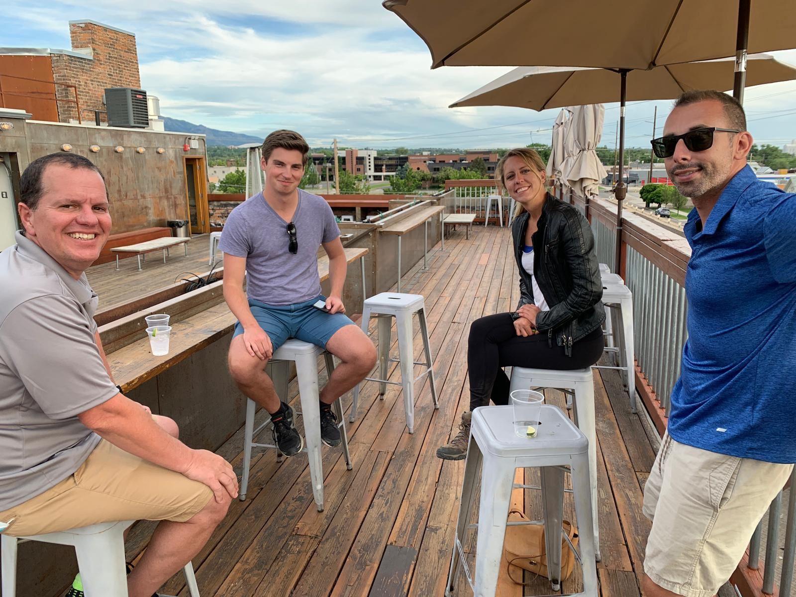 Rooftop bar Ogden Utah