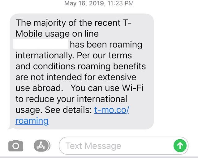 t-mobile unlimited international data