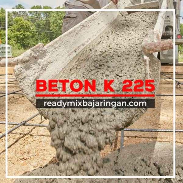 Harga Beton K225