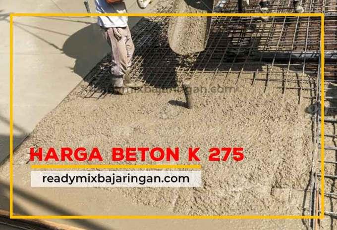 Harga Beton K275