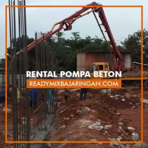 Jasa Rental Pompa Beton Cor