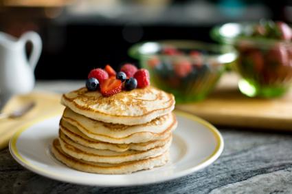 Pioneer Cornmeal Pancakes