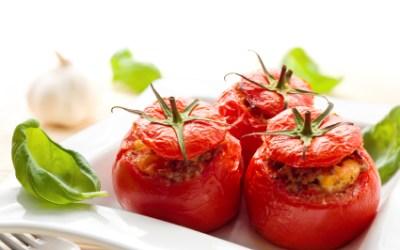 Couscous Stuffed Tomatoes